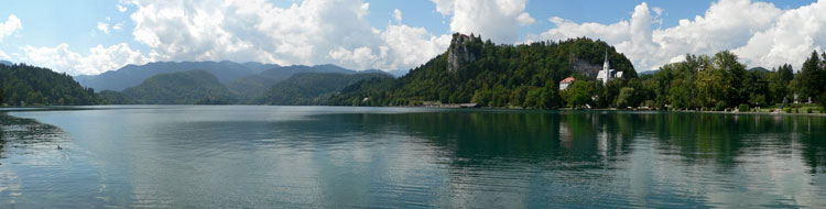 Bled lake, Eslovenia