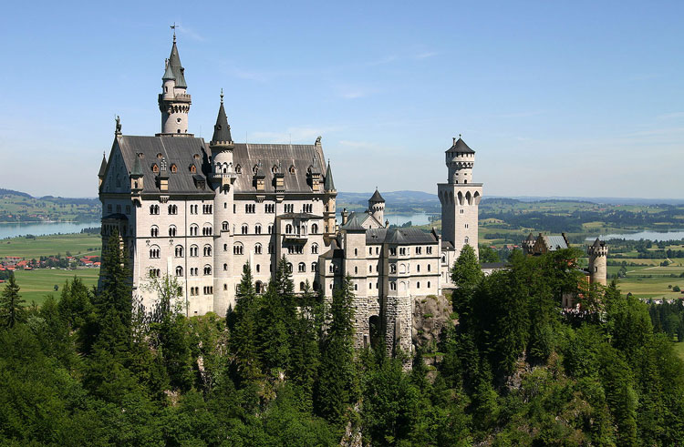 Castle Neuschwanstein, Alemania