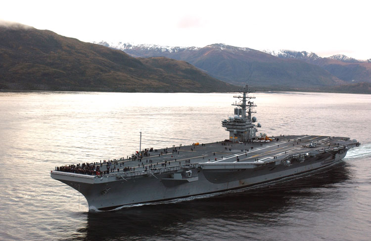 USS Ronald Regan - Portaaviones Ronald Reagan