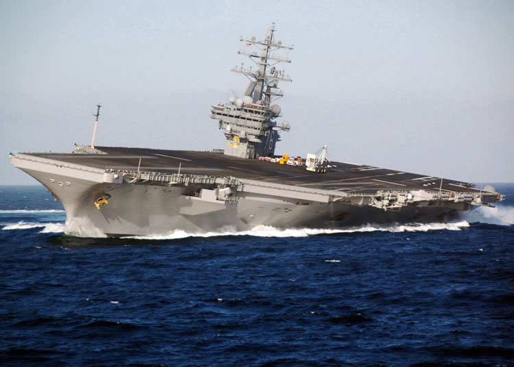 USS Ronald Reagan aircraft Carrier - Portaaviones Ronald Reagan