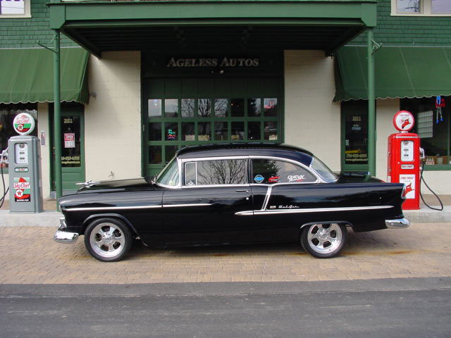 Chevrolet Bel Air Black